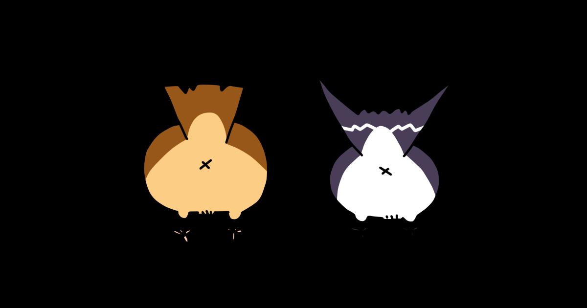 スズメとツバメ