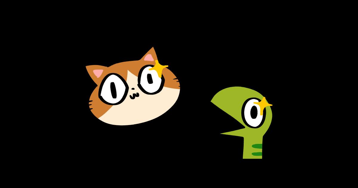 ネコとヘビ
