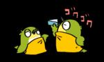 ちょっと不便そうな【鳥たちの水の飲み方】ニンゲンはマネしてはいけません。